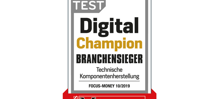 "euromicron ist ""Digital Champion 2019"""